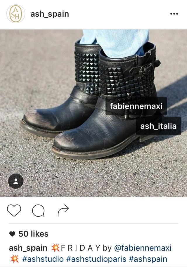 Ash Spain repost - 1 Fabienne Maxi Press