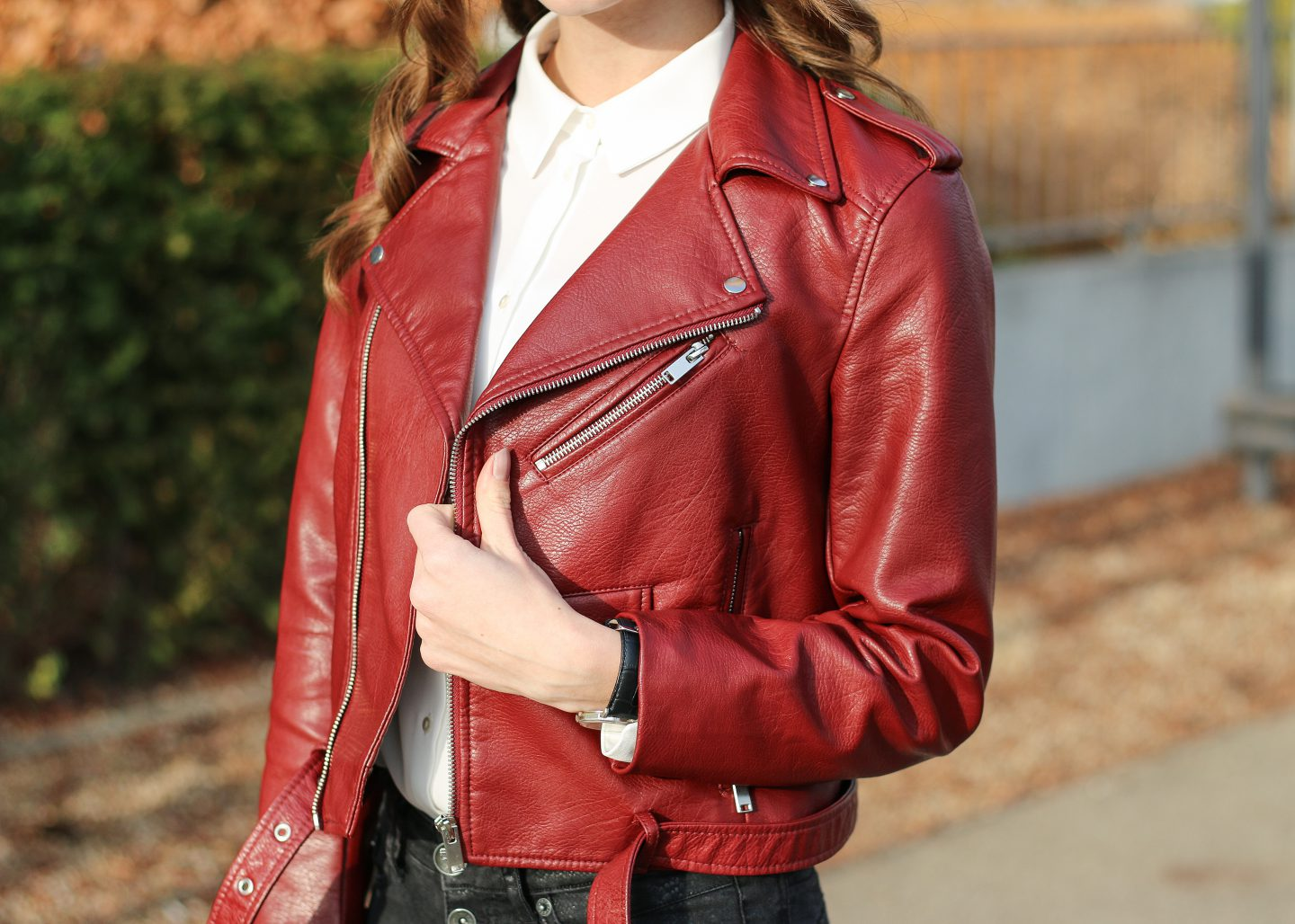 rote-lederjacke-16 - red leather jacket