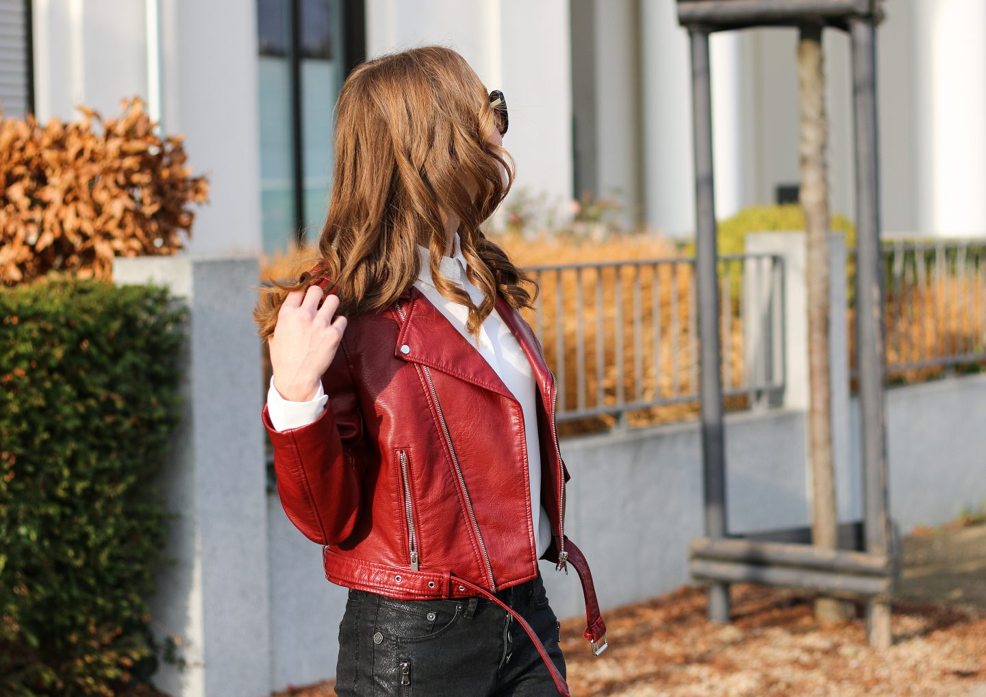 rote-lederjacke-21 - red leather jacket